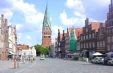 Am Sande und St. Johannis in Lüneburg