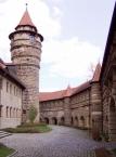 Festung in Lichtenau, Innenhof