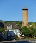 Nohfelden, Bergfried der Burg Veldenz