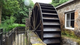 Water Wheel at Florence Court