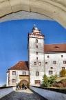 Eingang Schloss Colditz