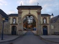 Eingangstor zum Kloster Steinfeld