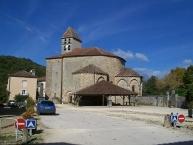 Saint-Jean-de-Côle, Église Saint-Jean Baptiste