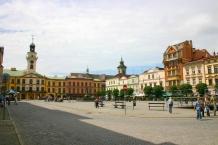 Main Market Square (Rynek) in Cieszyn