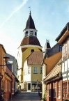 Fåborg, Glockenturm