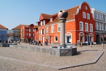 Market place of Aabenraa