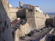 Entrada a les muralles de Peníscola