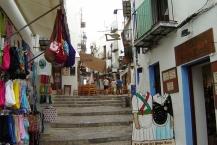 Peñiscola, Treppe in der Altstadt