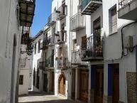 Peñiscola, Gasse im historischen Zentrum