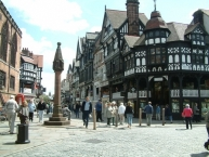 Chester, The Cross and The Rows