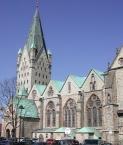 Die Südseite des Doms zu Paderborn