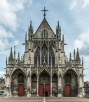 The west façade of Saint-Urbain de Troyes