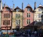Maisons rue Emile Zola à Troyes