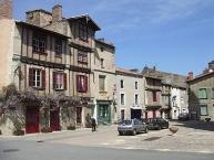 Maison à pans bois à Saint-Loup-Lamairé