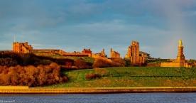 Tynemouth Castle und Priorei
