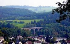 Railway viaduct in Daun