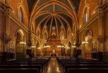 Teruel, interior of Iglesia de San Pedro