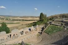 Clunia, altes römisches Theater