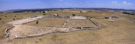 Clunia, remains of the ancient Roman thermae