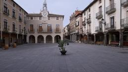 San Esteban de Gormaz, Plaza Mayor