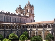 Kreuzgang der Kirche des Alcobaça-Klosters
