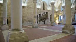 Alcobaça Monastery, refectory