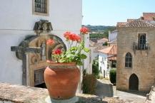 Óbidos, in the village center