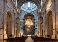Palace of Mafra, principal nave of the Basilica