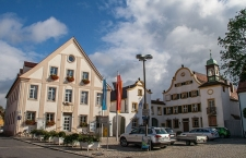 Allersberg, town hall and Heckelhaus