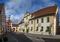Allersberg, Lower City Gate and Old hospital