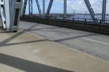 Blick von der alten auf die neue Kleinebelt-Brücke/View from the old to the new Littlebelt bridge