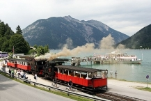 Station Seespitz ved Achensee/Seespitz sation on lake Achensee