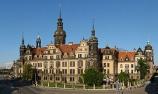 Residenzschloss Dresden vom Zwinger