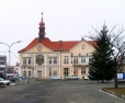 Town Hall at Masarykovo square in Brandýs nad Labem