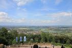 Aussicht vom Kaiser Wilhelm Denkmal in Porta Westfalica