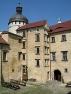 Grabštejn Castle - courtyard