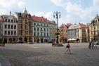Benešovo náměstí square in Liberec