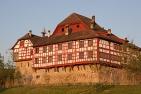 Schloss Hagenwil bei Sonnenaufgang