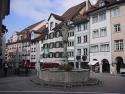 Altstadt von Wil, Kanton St. Gallen.