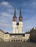 Halle, Marienkirche vom Hallmarkt