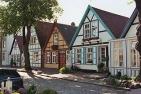 Warnemünde: Häuser in der Alexandrinenstraße