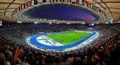 Panoramabild des Berliner Olympiastadions