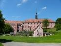 Gesamtansicht von Schloss/Kloster Himmelkron