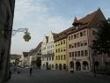 Gebäude am Nürnberger Hauptmarkt
