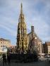 Nürnberg, Schöner Brunnen und Frauenkirche