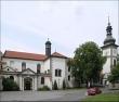 Kostel svatého Jakuba Většího v areálu Zbraslavského zámku