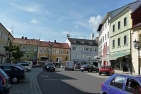Main square in Rohrbach Upper Austria