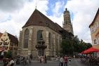 Nördlingen: Sankt Georg, Kriegerbrunnen