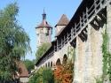 Rothenburg ob der Tauber, Stadtbefestigung mit Klingentorturm