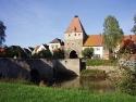 Herrieden, Storchenturm und Altmühlbrücke